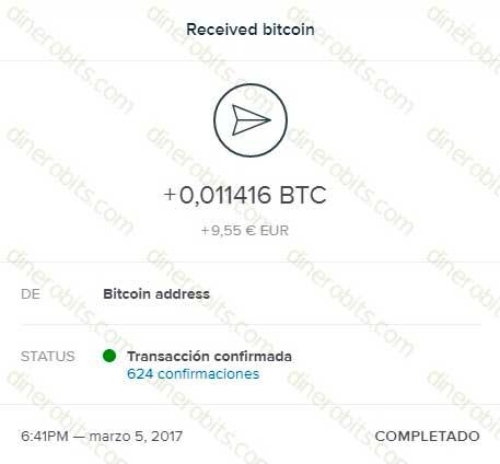 Undécimo pago recibido de FreeBitcoin