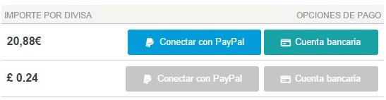 Conectar cuenta PayPal