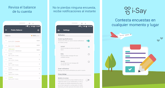 Aplicación móvil iOS Android