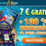 ScratchMania: Consigue 7€ gratis para probar tu suerte