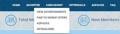 Opciones para generar ingresos en OptimalBux