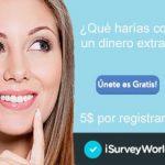 iSurveyWorld: Encuestas pagadas online y 5$ gratis