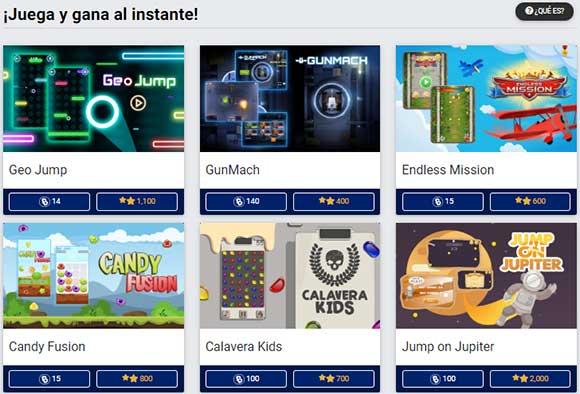 Gana bycoins con videojuegos