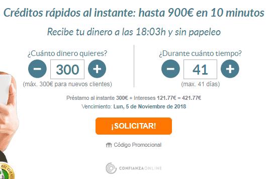 Solicitar minicrédito rápido en QueBueno