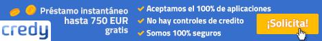 Préstamos Credy España