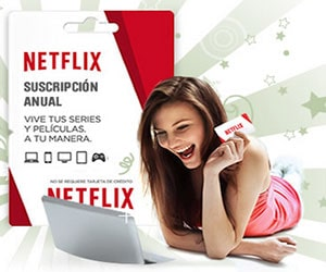 Sorteo suscripción Netflix