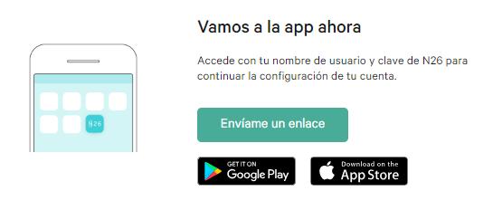 Descargar aplicación N26