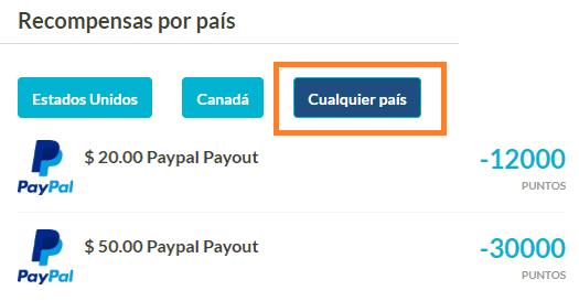 Premios PayPal iRazoo