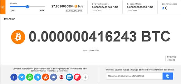 Como funciona Cryptotab