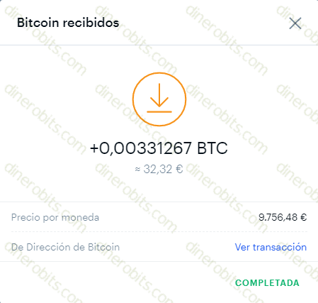 Bonus Bitcoin paga