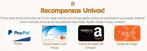 Univox premios