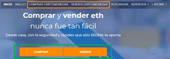 Como comprar en Bit2me
