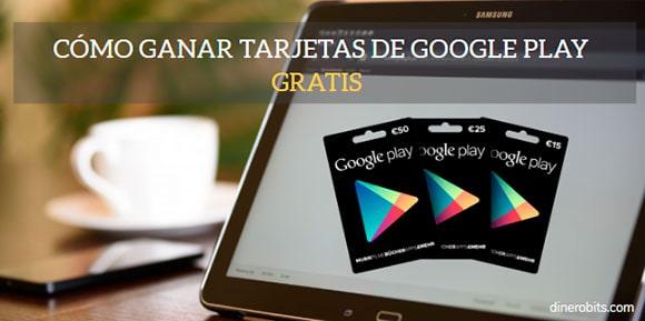Tarjetas de Google Play gratis