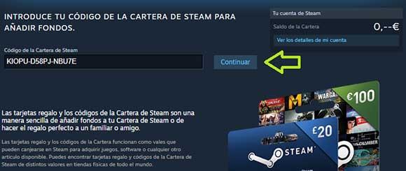 Canjear Steam códigos gratis
