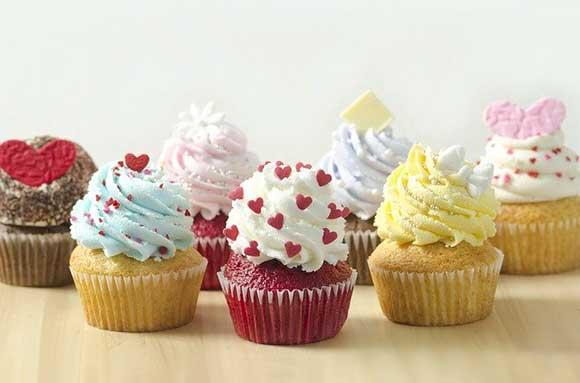Trabajo manual desde casa cupcakes
