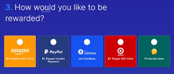 Métodos de pago en Surveytime