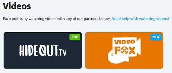 Vídeos en Hideout.tv