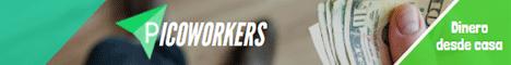 Ingresos con tareas en PicoWorkers