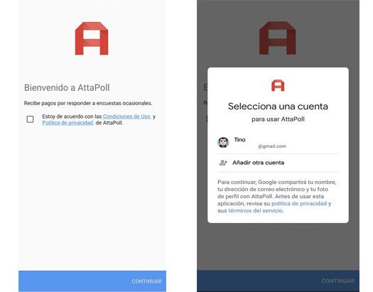 Instalación de AttaPoll App