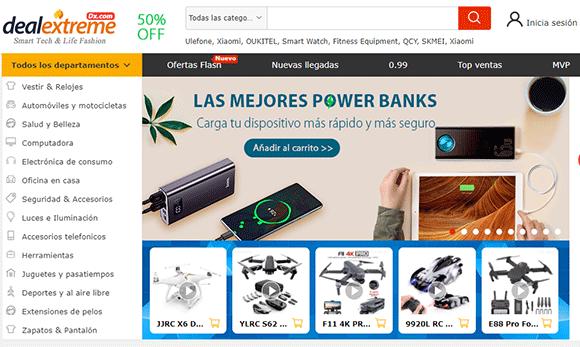 Comprar en DealExtreme español