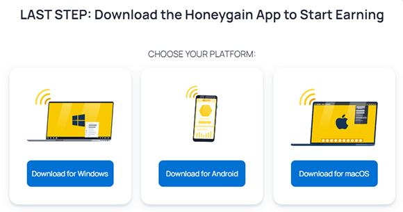 Descargar Honeygain apk