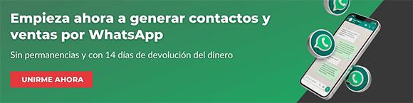 Como vender servicios por WhatsApp